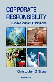 Cover of: Corporate Responsibility