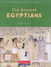 Cover of: The Ancient Egyptians (Understanding People in the Past) | Rosemary Rees