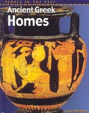 Cover of: Ancient Greek homes