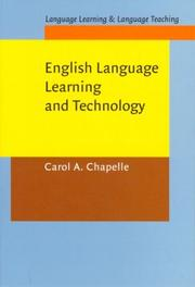 Cover of: English language learning and technology | Carol Chapelle