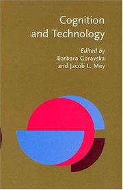 Cover of: Cognition And Technology |