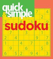 Cover of: Quick & Simple Sudoku