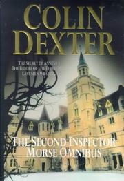 Cover of: The second Inspector Morse omnibus