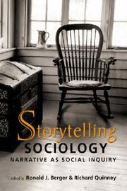 Cover of: Storytelling Sociology |