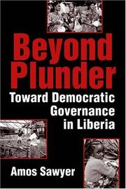 Cover of: Beyond Plunder