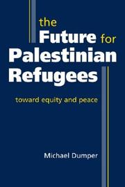 Cover of: The Furture for Palestinian Refugees