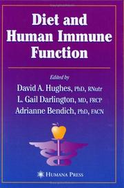 Cover of: Diet and Human Immune Function (Nutrition and Health) |