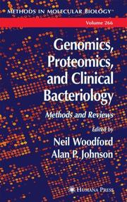 Cover of: Genomics, proteomics, and clinical bacteriology |