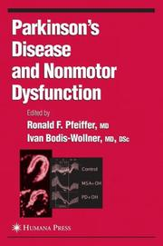 Parkinson's Disease and Nonmotor Dysfunction (Current Clinical Neurology) by