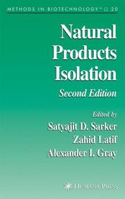 Natural Products Isolation (Methods in Biotechnology) by Satyajit D. Sarker