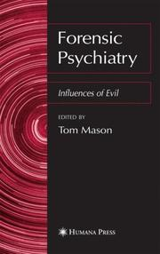 Cover of: Forensic Psychiatry