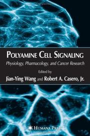 Cover of: Polyamine cell signaling |