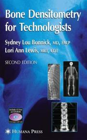Cover of: Bone densitometry for technologists