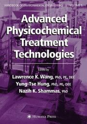 Cover of: Advanced physicochemical treatment technologies |