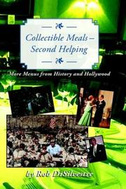 Cover of: Collectible Meals--Second Helping | Rob Disilvestre