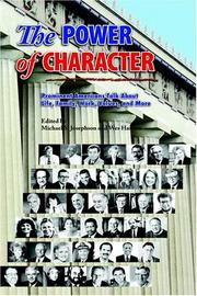 Cover of: The Power of Character |