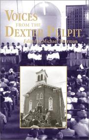 Cover of: Voices from the Dexter pulpit |