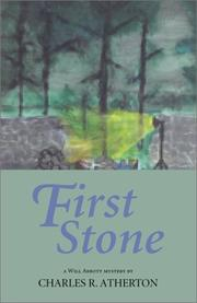 Cover of: First stone | Charles R. Atherton