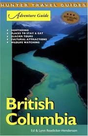 Cover of: British Columbia Adventure Guide (Adventure Guides Series) (Adventure Guides Series) | Ed Readicker-Henderson