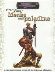 Cover of: Players Guide to Monks and Paladins (D20 Generic System) |