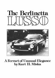 Cover of: The Berlinetta Lusso