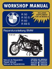 Cover of: BMW Motorcycles Workshop Manual R50 R50S R60 R69S