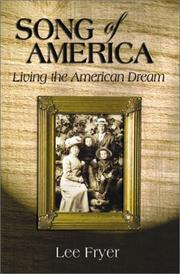 Cover of: Song of America
