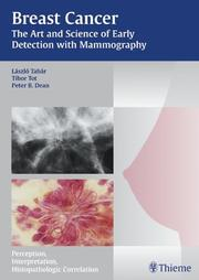 Cover of: Breast Cancer: The Art And Science Of Early Detection With Mamography | Laszlo Tabar