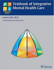 Cover of: Textbook of Integrative Mental Health Care