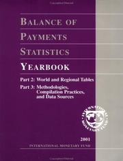 Balance of Payments Statistics Yearbook by International Monetary Fund.