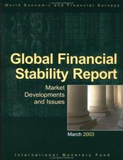 Global Financial Stability Report by International Monetary Fund.