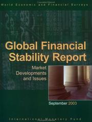 Cover of: Global Financial Stability Report | International Monetary Fund.