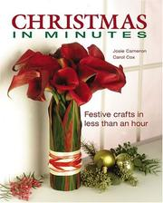 Cover of: Christmas in minutes