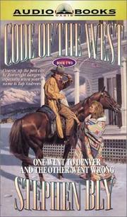 Cover of: One Went to Denver and the Other Went Wrong (Code of the West, Book 2) |