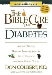 Cover of: The Bible Cure for Diabetes (Bible Cure)