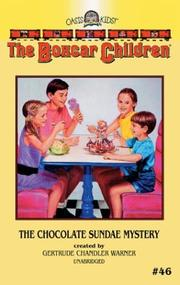 Cover of: The Chocolate Sundae Mystery