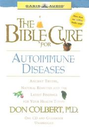 Cover of: The Bible Cure for Autoimmune Disorders (Bible Cure)