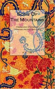Cover of: Song of the Mountains | K. C. Tee