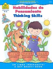 Cover of: Thinking Skills Bilingual | School Zone Publishing Company Staff