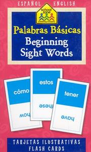Cover of: Beginning Sight Words | School Zone Staff