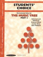 Cover of: Student's Choice, Part 3