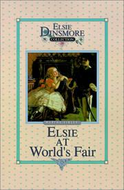 Cover of: Elsie at the World