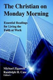 Cover of: The Christian on Monday Morning |