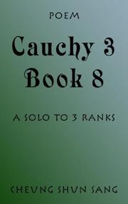 Cover of: Cauchy 3 Book 8