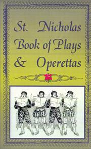 Cover of: St. Nicholas Book of Plays & Operettas | Fredonia Books