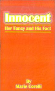 Cover of: Innocent | Marie Corelli