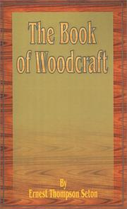 Cover of: The book of woodcraft: with 500 drawings