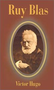 Cover of: Ruy Blas by Victor Hugo