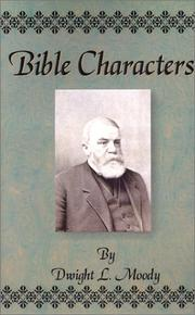 Cover of: Bible Characters
