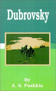 Cover of: Dubrovsky